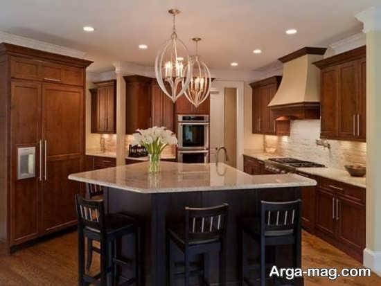 لوسترهای فوق العاده آشپزخانه