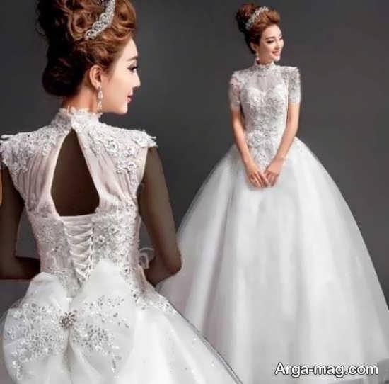 مدل لباس عروس کره ای جدید