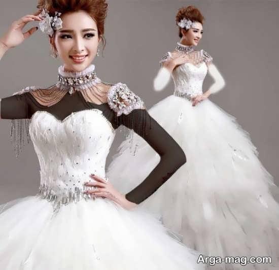 مدل جدید پیراهن عروس کره ای