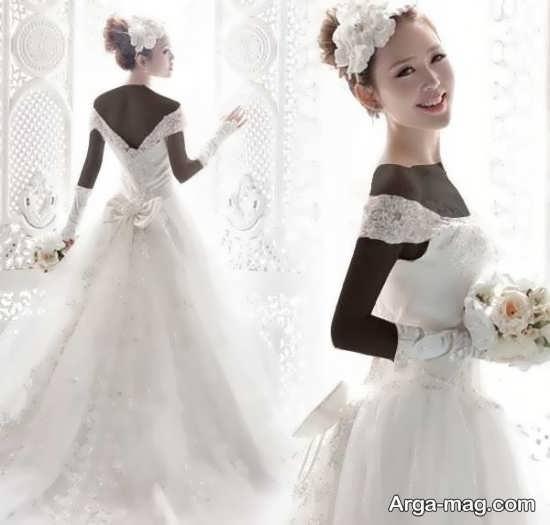 مدل لباس عروس کره ای زیبا