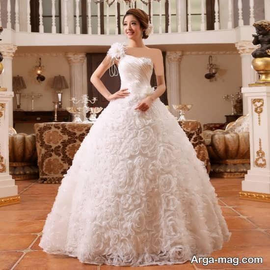تصاویری از پیراهن عروس کره ای
