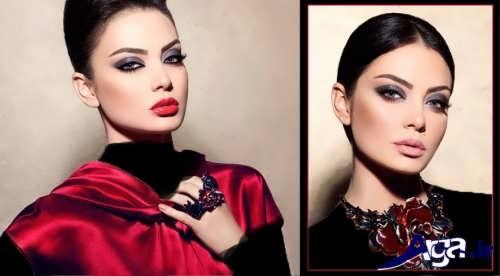 مدل آرایش دخترانه لبنانی