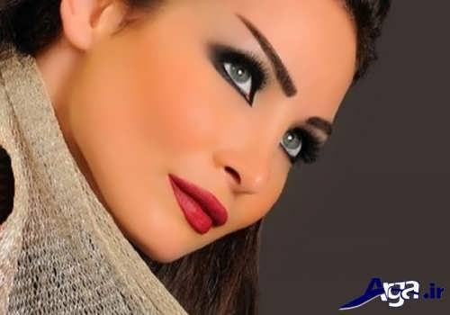 مدل آرایش صورت لبنانی