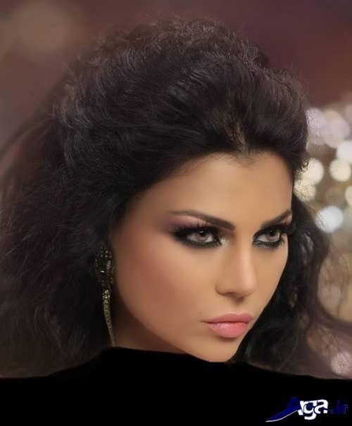 مدل آرایش لبنانی زیبا