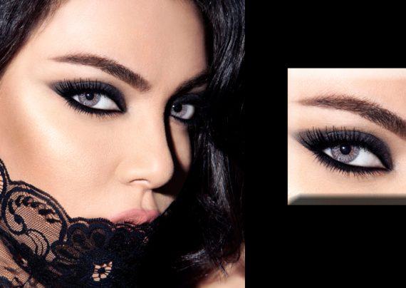 مدل آرایش لبنانی دخترانه و زنانه