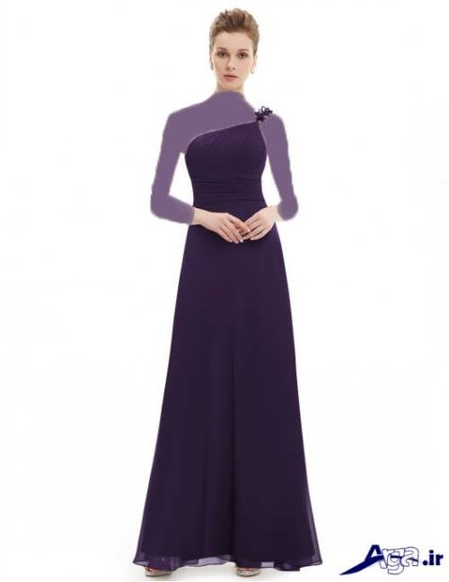 مدل لباس مجلسی ساده و بلند