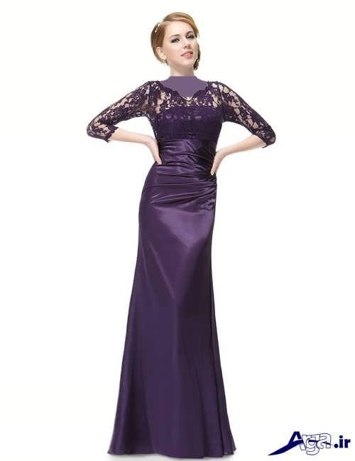 مدل پیراهن گیپور دار زنانه