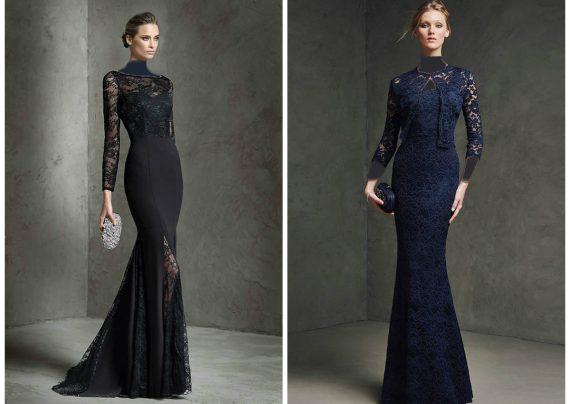 مدل لباس بلند مجلسی با شیک ترین طرح های مد سال