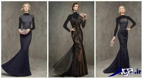 انواع مدل لباس بلند مجلسی با طرح های شیک و زیبا