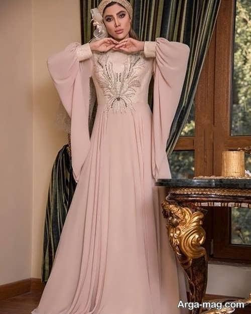 لباس مجلسی پوشیده بلند و بی نظیر