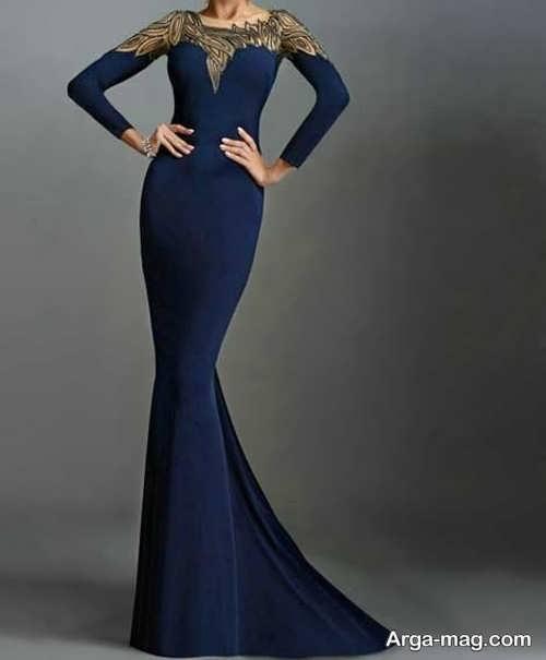 شیک ترین مدل لباس مجلسی بلند