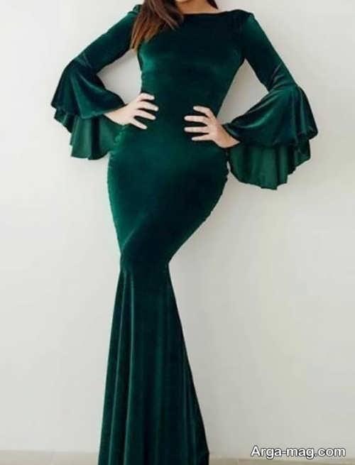 قشنگ ترین مدل لباس مجلسی بلند