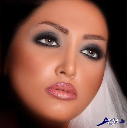 Makeup for round faces (1)