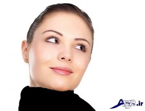 مدل آرایش مناسب برای صورت گرد