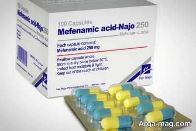 اطلاعات دارویی مفنامیک اسید