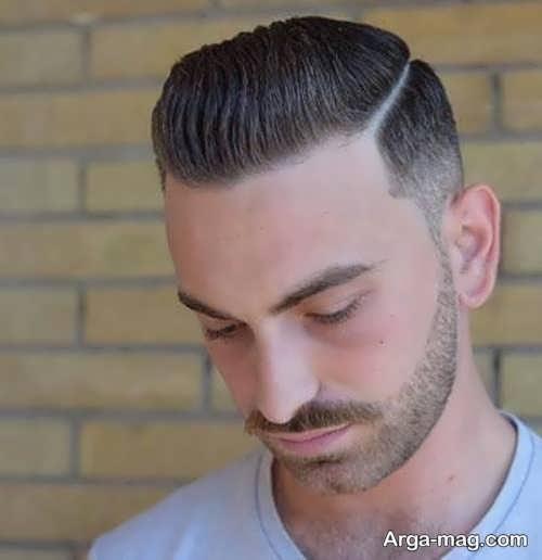 مدل مو جالب مناسب موهای کم پشت مردانه