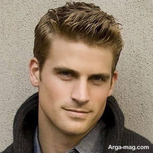 مدل مو فوق العاده مناسب موهای کم پشت مردانه