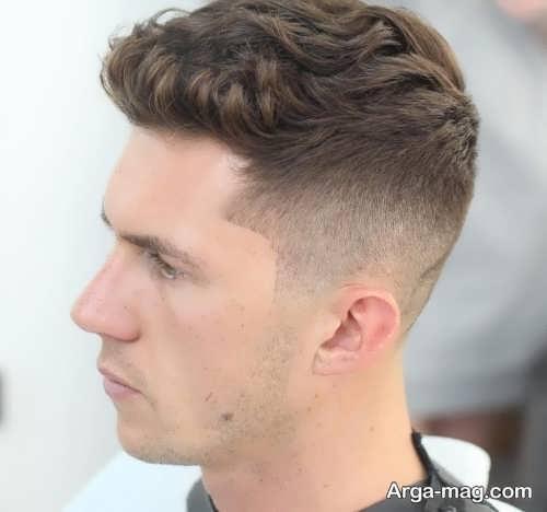 مدل مو پرطرفدار مناسب موهای کم پشت مردانه
