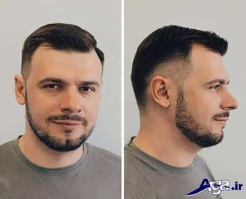 مدل موی مردانه کوتاه شیک و متفاوت