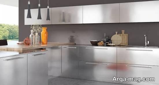 کابینت فلزی با طراحی بی نظیر