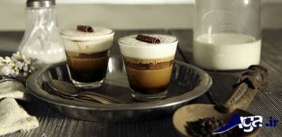 قهوه موکا خوشمزه