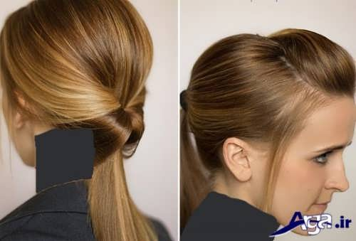 مدل بستن موی زیبا