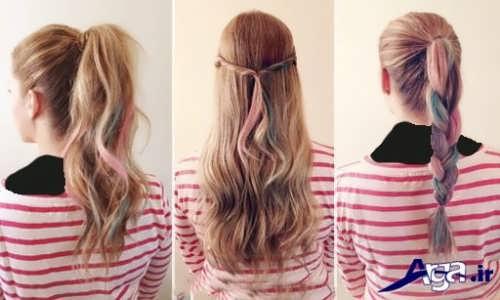 روش هایی برای بستن موها