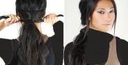 مدل بستن مو در خانه با روش های ساده
