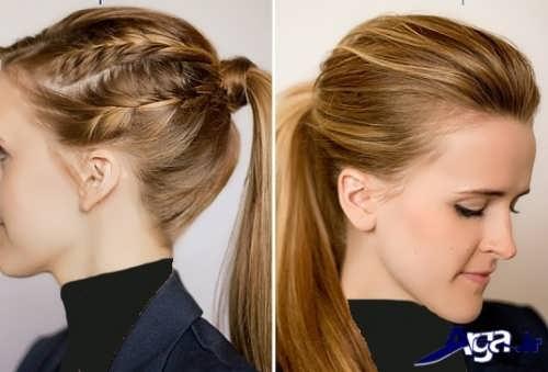 مدل بستن مو با کمک روش های متفاوت و جدید