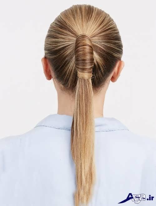 مدل بستن موی دخترانه