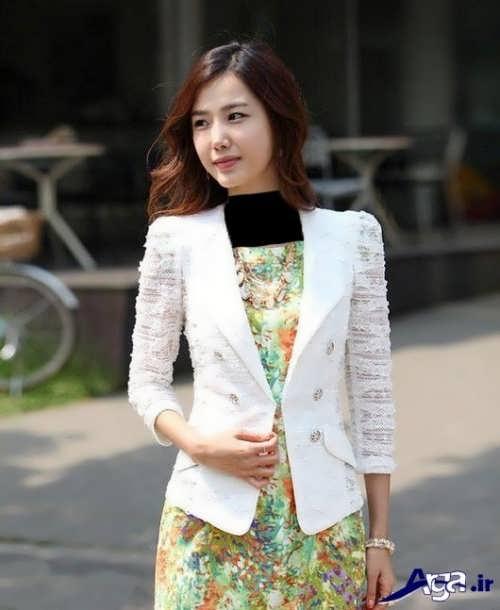 مدل کت سفید گیپور