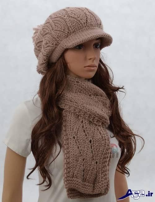 مدل های شال و کلاه دخترانه