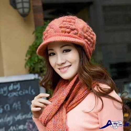 کلاه و شال دخترانه