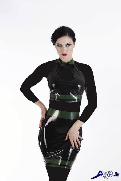 مدل تاپ و دامن براق زنانه