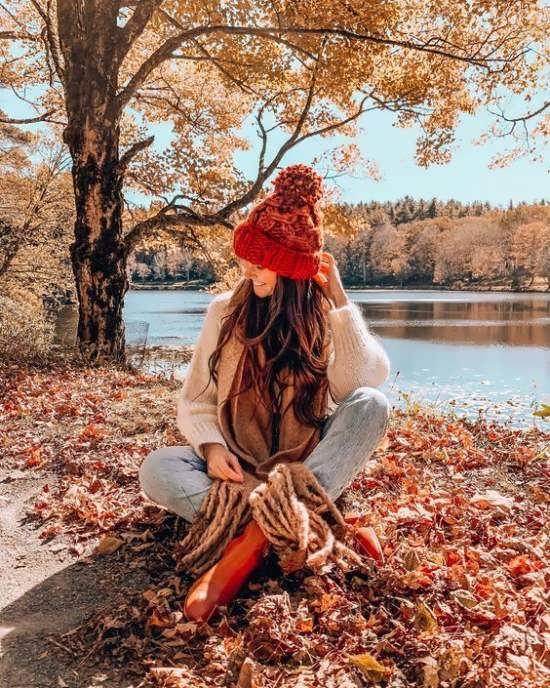 عکس طبیعت پاییزی مناسب پروفایل دختران