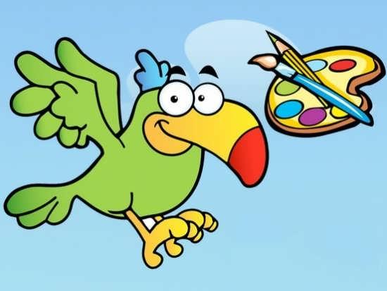 نقاشی های زیبا از پرندگان زیبا