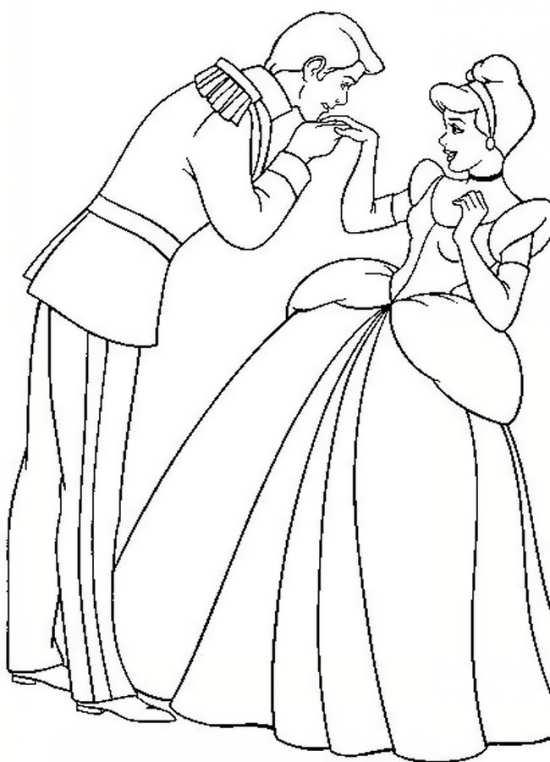 رنگ آمیزی نقاشی سیندرلا