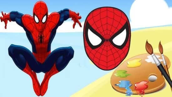 نقاشی مرد عنکبوتی