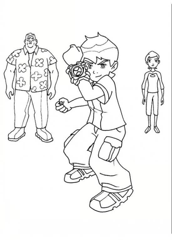 نقاشی شخصیت های کارتونی پسرانه