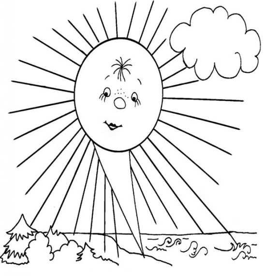 نقاشی خورشید با طرح های مختلف