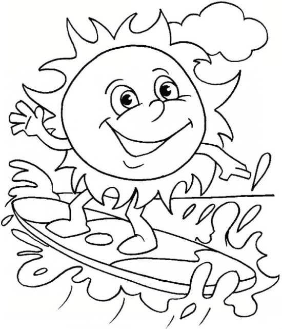 نقاشی های زیبا و جذاب خورشید