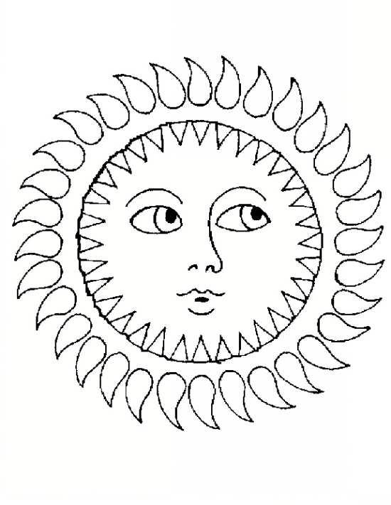 نقاشی زیبا خورشید خانم