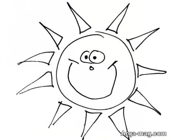 تصاویر طراحی خورشید