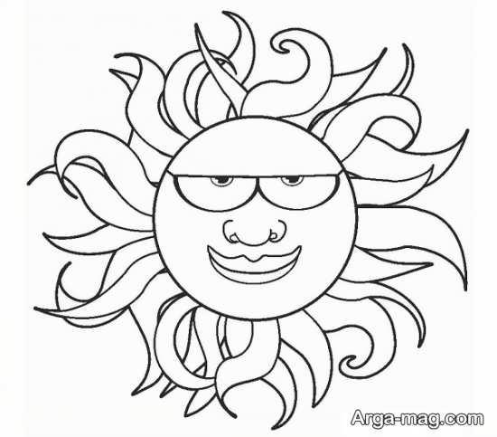 طراحی خورشید