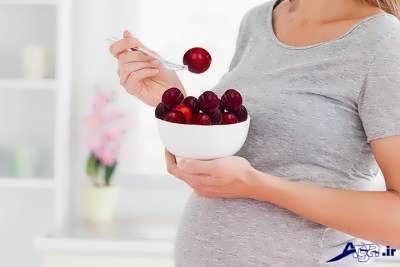 فواید آلو در بارداری