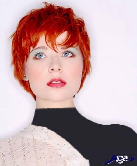 فرمول رنگ موی قرمز مسی