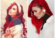 فرمول های ترکیبی رنگ موی قرمز