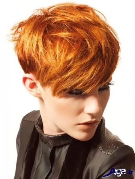 رنگ موی قرمز - طلایی
