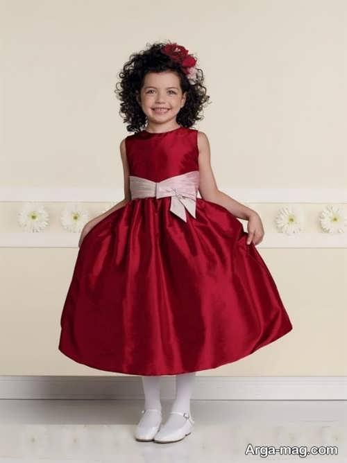 لباس ساتن بچه گانه فوق العاده