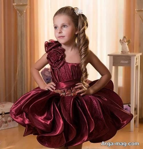لباس ساتن بچه گانه متنوع